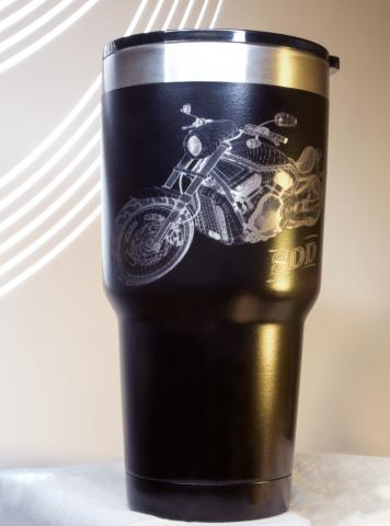 Tumbler - Personalized Harley