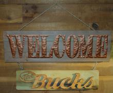 Family Name Welcome Sign